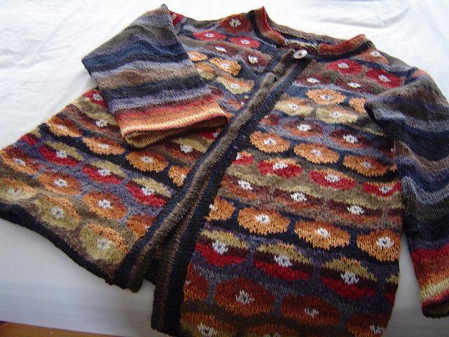 Ravelry: PannieB's Poppy jacket