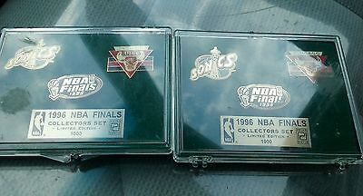 Chicago Bulls 1996 NBA Finals Collectors Set
