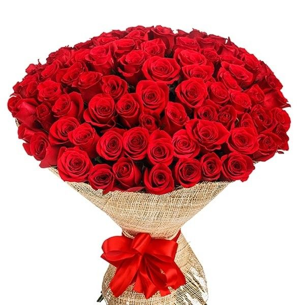100 Red Roses In Bouquet Send To Philippines Roses Bouquet To Philippines Red Rose Bouquet 100 Red Roses Roses Bouquet Gift