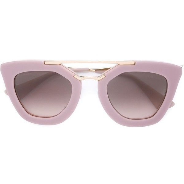 Prada Cinéma Sunglasses ($369) ❤ liked on Polyvore featuring accessories, eyewear, sunglasses, glasses, logo sunglasses, prada glasses, prada, square frame sunglasses and prada eyewear - Sale! Up to 75% OFF! Shop at Stylizio for women's and men's designer handbags, luxury sunglasses, watches, jewelry, purses, wallets, clothes, underwear & more!