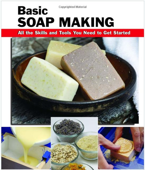 This Basic Soap Making book was the one recommended for me to read by experienced soap makers. Perfect for Beginners. PLUS ITS FREE!!