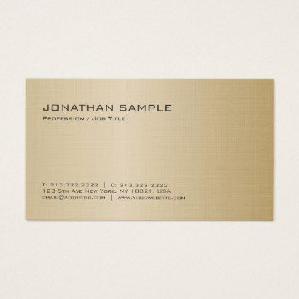 Elegant Modern Professional Premium Linen Luxury Business