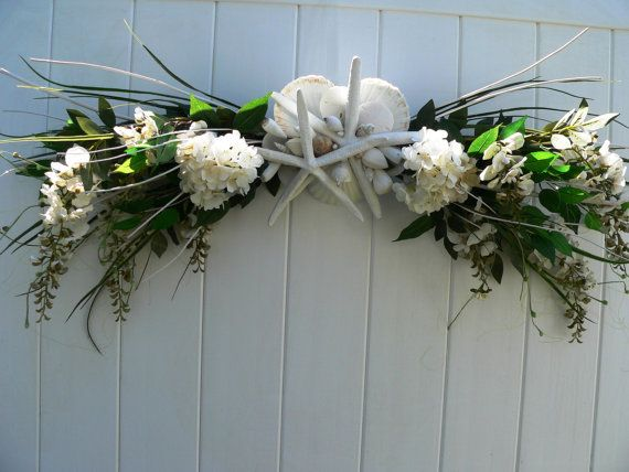 "A ""forever"" decoration for a perfect beach wedding! BEACH WEDDING Decoration/Beach Wedding Arch/Beach by BeachyWreaths, $299.00"