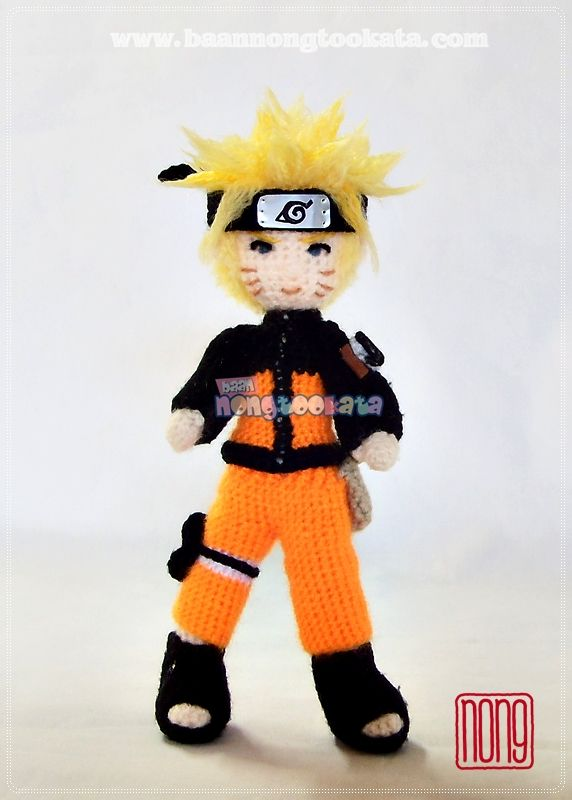 Amigurumi Naruto Pattern : Naruto Amigurumi ,crochet doll, Crochet,Cute Doll,Crafts ...