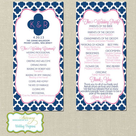 Wedding Program Inclusions Wedding Ceremony Order Of Service Step
