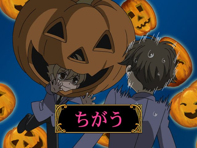 ouran high school host club honey attacks on halloween i love how he goes - I Luv Halloween Manga