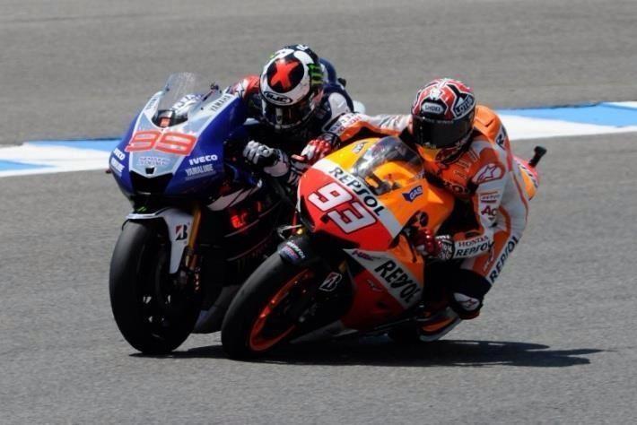 #jerez motogp 2013 05/05/2013 MARQUEZ VS LORENZO