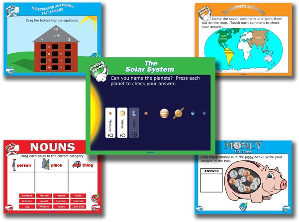 A few of our favorite interactive whiteboard lessons