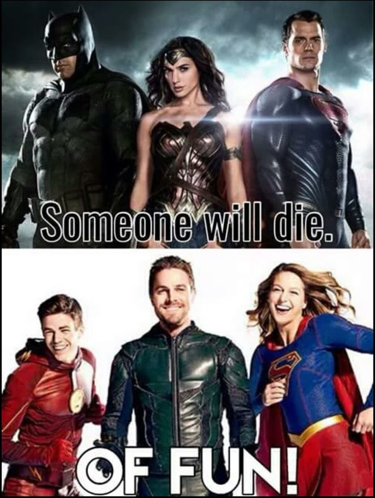 DC TV universe over DC movie universe any day of the week.