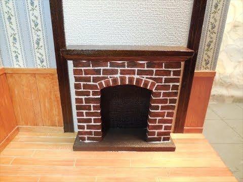 ミニチュアドールハウス 部屋を仕上げるMiniature dollhouse  A room is completed - YouTube