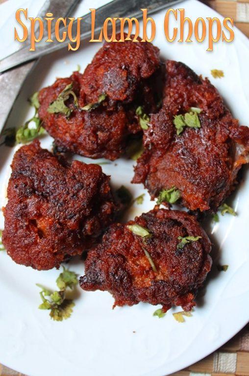 YUMMY TUMMY: Spicy & Crispy Lamb Chops Recipe