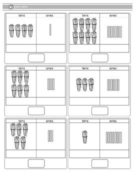 Place Value Worksheets : free place value worksheets tens and ones ...