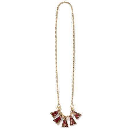 Vivid Necklace - scarlet