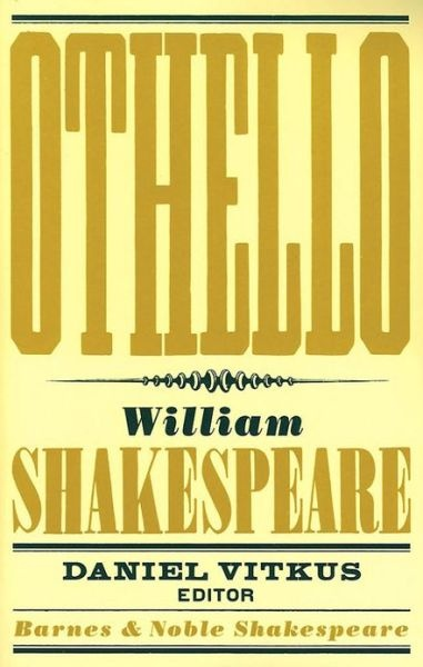 Othello: Definitely one of my favorite Shakespeare plays :)