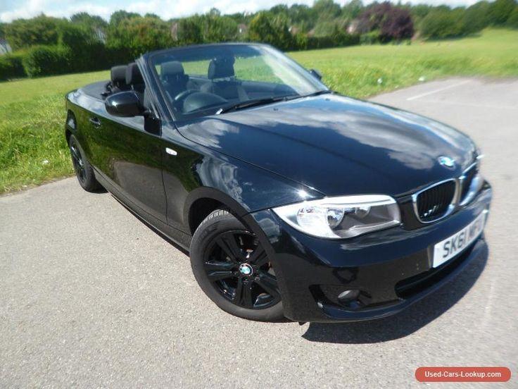 2011 BMW 118D SE CONVERTIBLE  EXCELLENT CONDITION   LOW MILEAGE  NO RESERVE #bmw #118dseconvertible #forsale #unitedkingdom