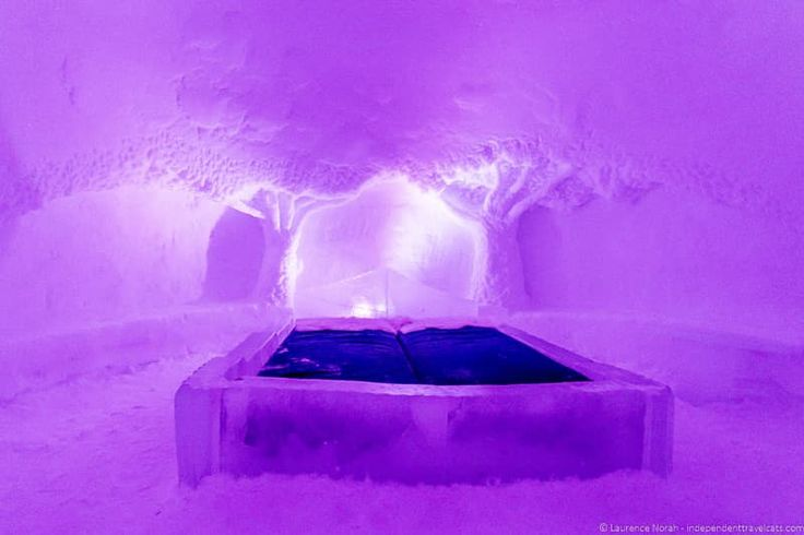 Accommodation options are wild in Lapland such as staying in an ice hotel, a traditional igloo, or a heated glass igloo - Visiting Finland in Winter: Top 15 Winter Activities in Finland