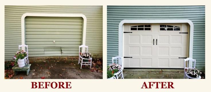 14 best images about damaged garage doors on pinterest for Local garage door