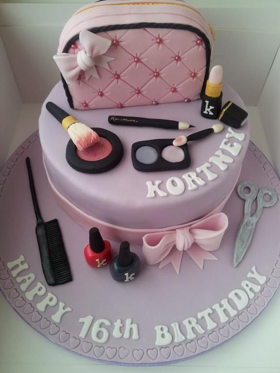 66 Best Images About 16th Birthday Cakes On Pinterest