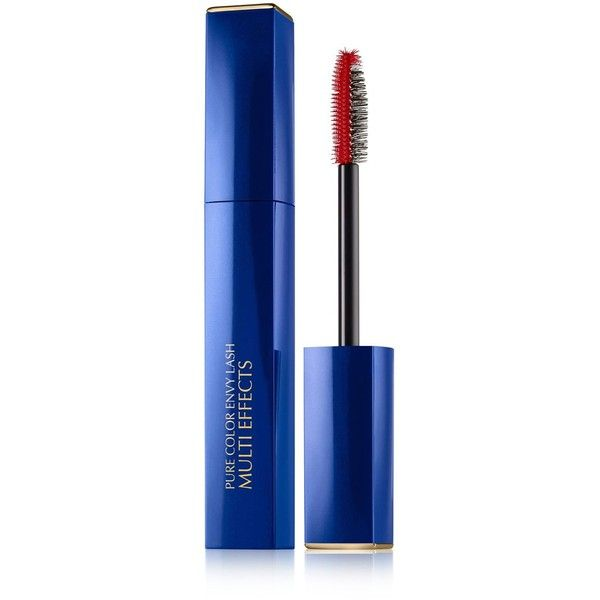 Estee Lauder Pure Color Envy Lash Multi Effects Mascara: High-Impact... (520 MXN) ❤ liked on Polyvore featuring beauty products, makeup, eye makeup, mascara, blue, estee lauder eye makeup, estee lauder mascara, estée lauder and conditioning mascara