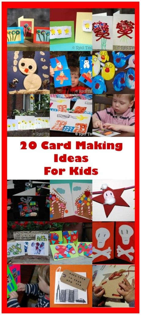 20 Kids Card Ideas to delight your family and friends!