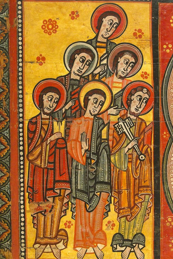 Frontal de altar de La Seu d'Urgell o de los Apóstoles