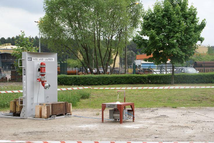 Pokaz wybuchów w Elektrowni Bełchatów