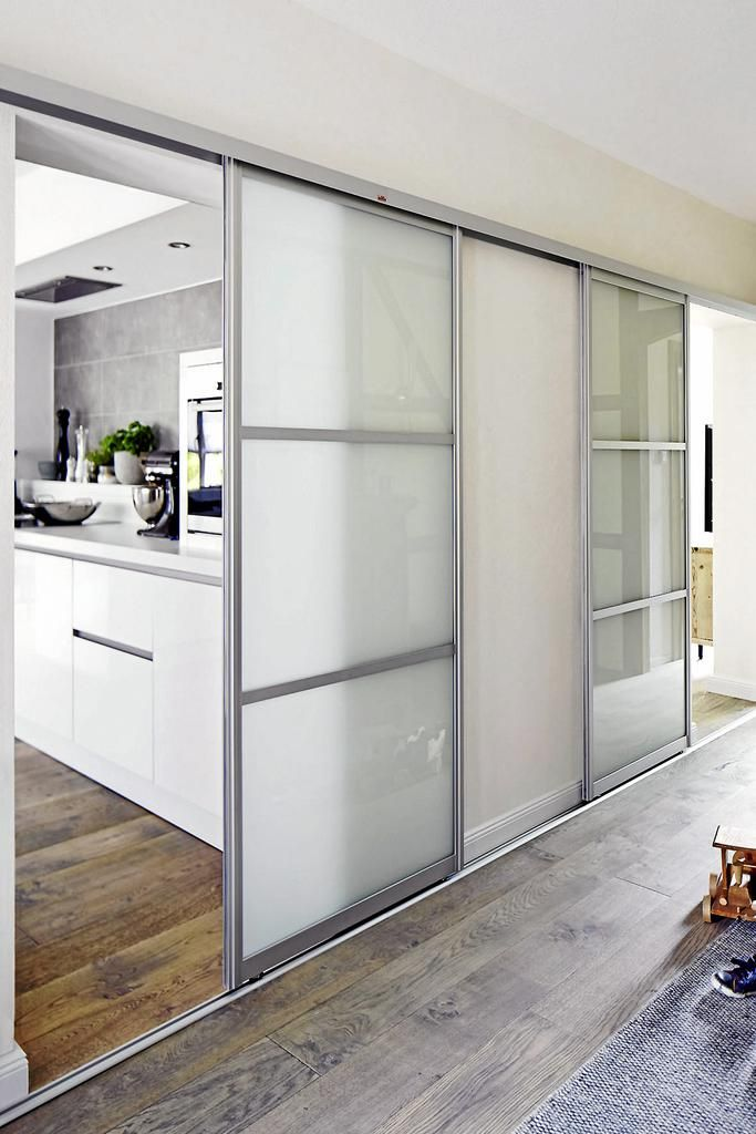 Schiebetüren für offene Wohnküchen