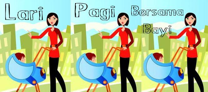 Ingin mengajak bayi (3 bulan) lari pagi dan menggunakan stroller. Apakah ini aman untuk bayi? Klik link di atas untuk mengetahui jawaban dari pakar