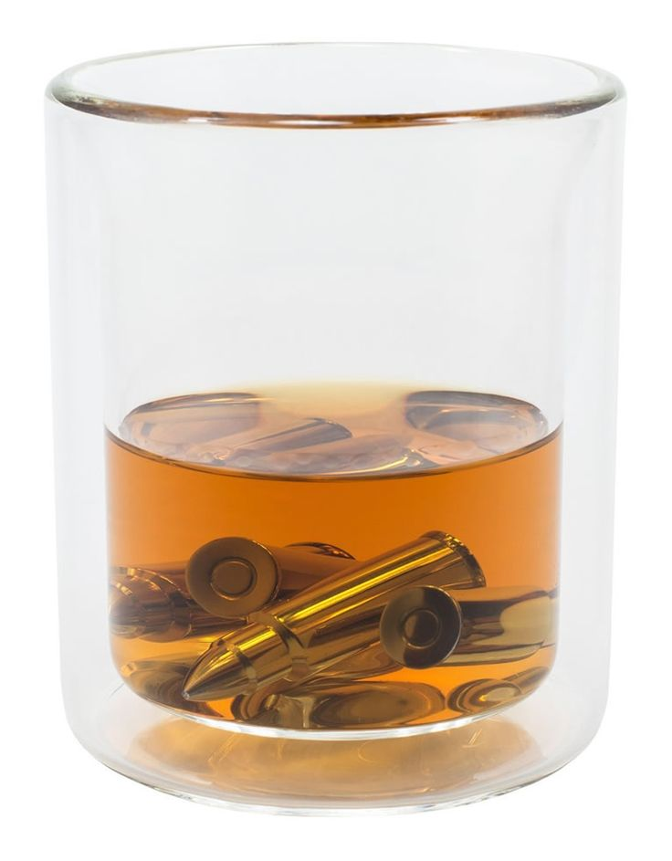 Bullet Shaped Whiskey Stones Is The Ammo You Need To Give Drinks A Bigger Bang -  #drinking #guns