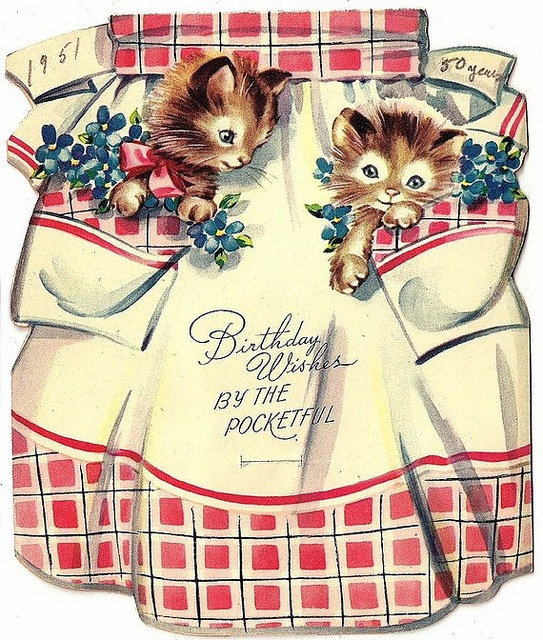 243 best images about VINTAGE GREETING CARDS – Vintage Birthday Cards