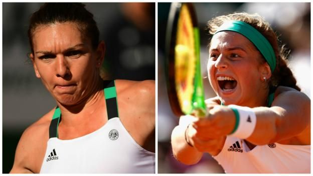 Simona Halep (left) has won 15 titles in her career while Jelena Ostapenko has yet to win one     French Open women's final     Venue: Roland Garros, Paris Dates: Saturday, 10 June Time: 14:00 BST   Coverage: Live radio commentary on BBC Radio 5 live and online and text updates on the BBC...