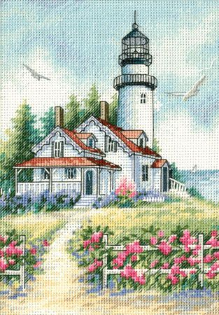 "Gallery.ru / Картинка - ""Маячок"" (""Scenic Lighthouse"") - f-morgan"