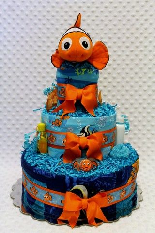 finding nemo baby shower - Google Search - no tutorial found