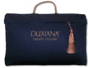 2006 DUXIANA® Travel Pillow - Travel with Luxury