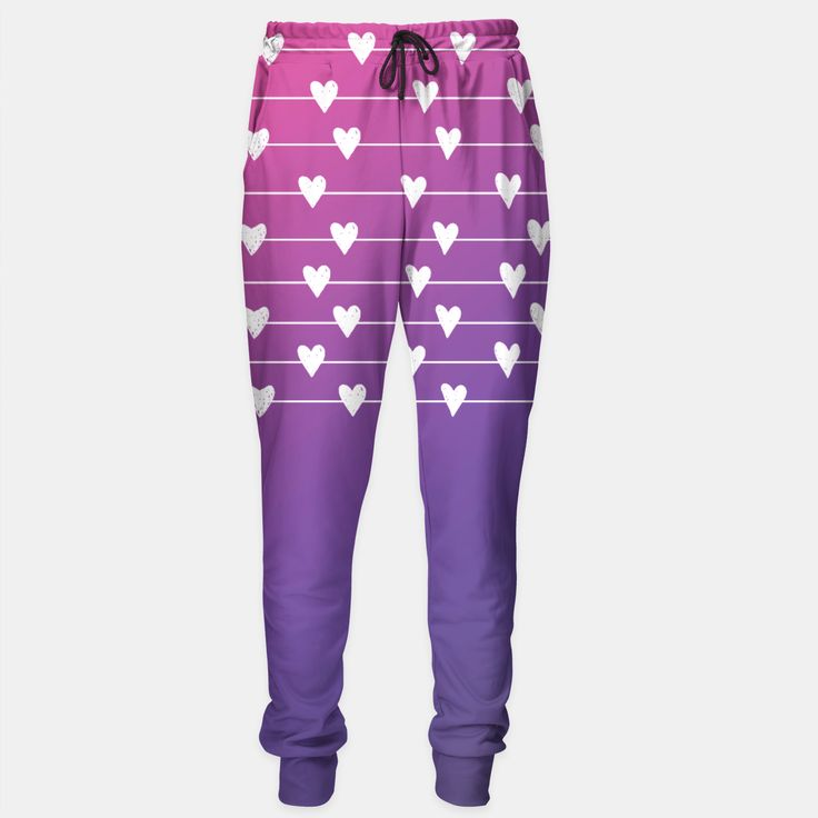 related hearts Sweatpants by Fattanirvana 54.95€