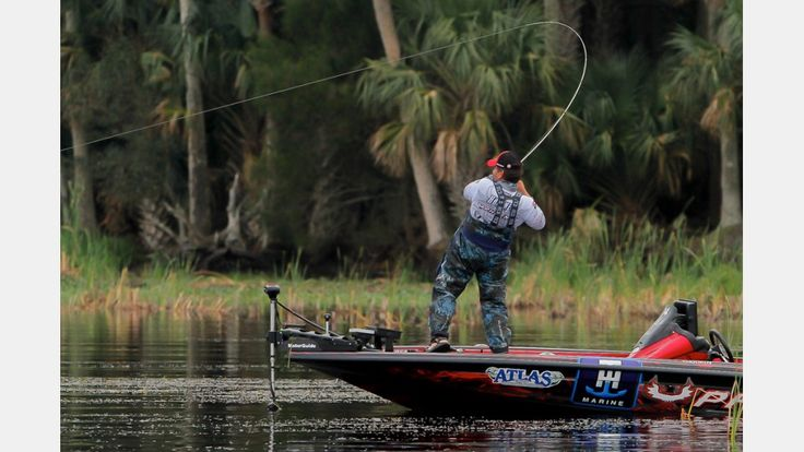Greg Hackney on the St. John's River