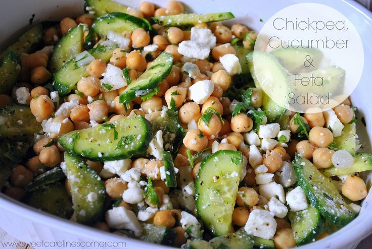 melon and cucumber salad with feta black pepper and mint recipe chow i ...