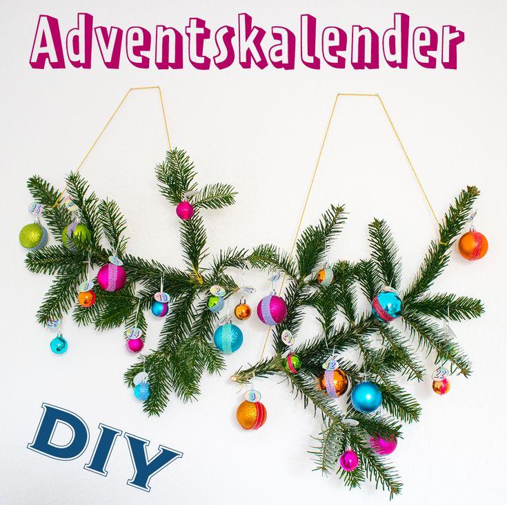 DIY Anleitung für einen Adventskalender mit