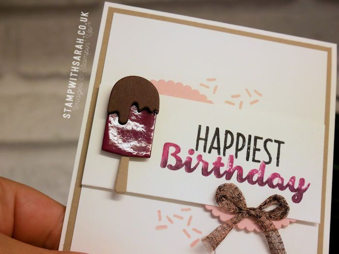 Blog Hop: Inspired by Food with the Be Inspired Team – Stampin' Up! UK #6 Sarah Berry