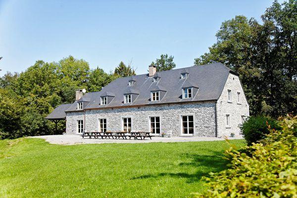 Anhée - Vakantiehuis in de Ardennen – pers 30 1449  schoonmaak inbegrepen?  wachten op last minute