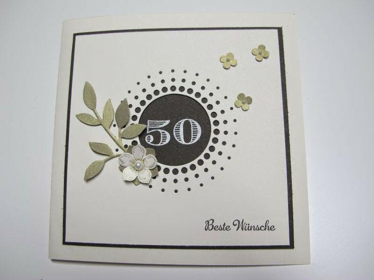 Karte Zur Goldenen Hochzeit · Runder GeburtstagGoldene HochzeitSilberhochzeitGeburtstageKarten  BastelnEinladungenBoxenSonstigesHochzeitskarten