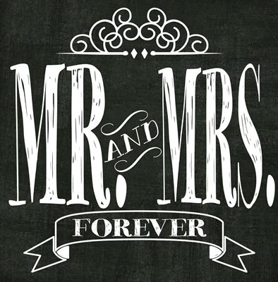 "The Idea Door: ""Mr. and Mrs. Forever"" Free Printable Subway Art {12x12}"