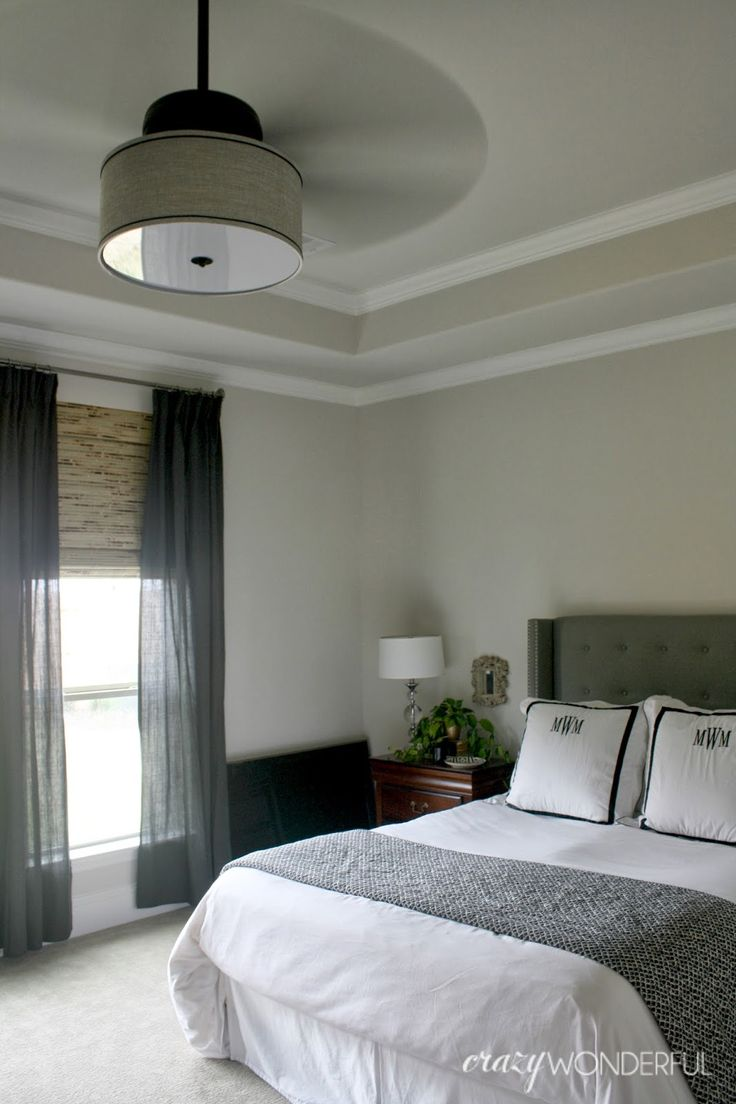 Crazy Wonderful: DIY drum shade ceiling fan