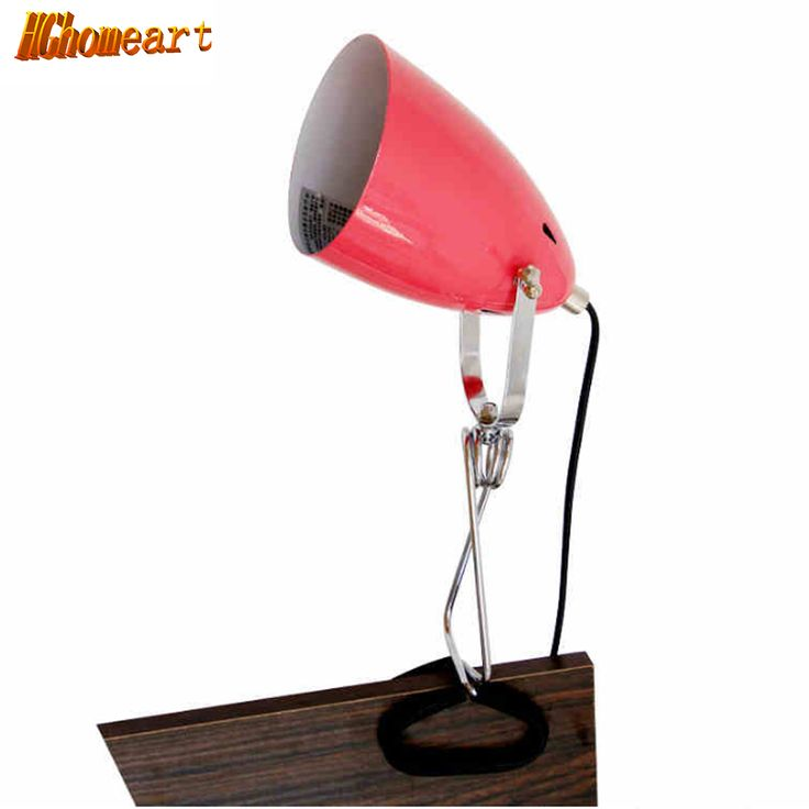 Full metal clip lamp eye study bedroom bedside lamp dormitory room reading a book reading computer desk book light #Affiliate