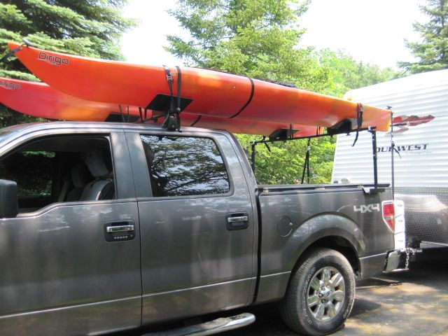 kayak rack for truck - Google Search