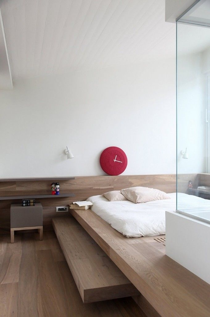 Japanese room, Washitsu 和室 clean lines, simplicity and symmetrical balance