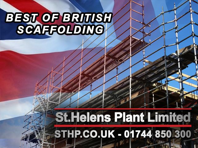 The benefits of British Scaffolding go far beyond the UK economy, British made products and systems are regarded as high quality with safety first.
