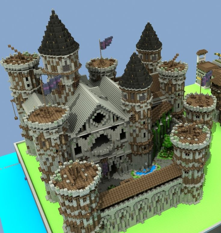 Best 25 minecraft castle designs ideas on pinterest for Castle architecture design