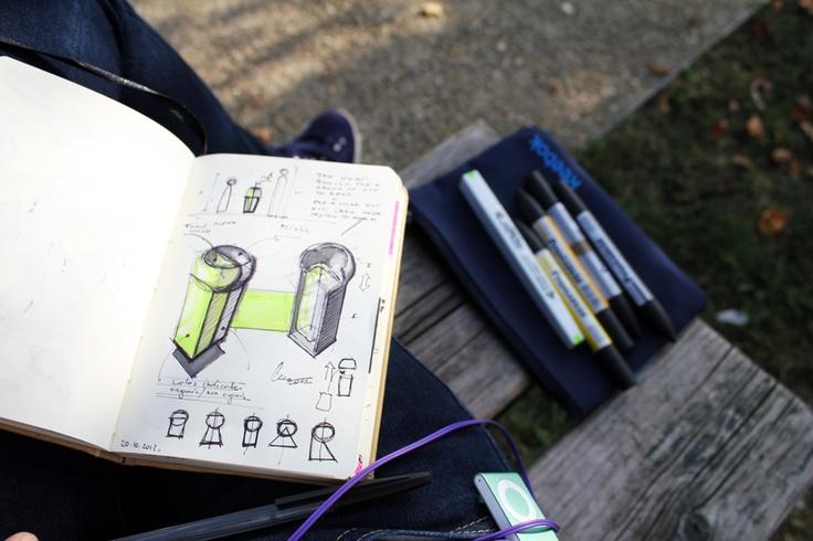 Doodles from sketchbook