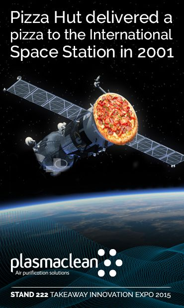 Pizza Hut delivered a pizza to the International Space Station in 2001. Well I didn't know that ! #facts #fastfood #food